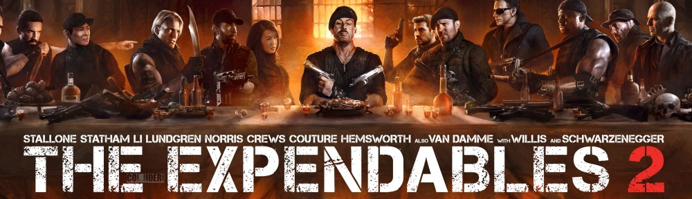 The Expendables 2 last supper
